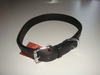 Halsband - flach - schwarz 65 cm Länge / 3,0 cm Breite - SONDERPREIS statt 33,95 €. Bild vergrö�ern