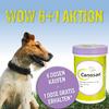 Canosan ® Pellets für gesunde Hundegelenke. Konzentrat 4x Dosen a 1,3 kg mit 4 % Gonex ® Grünlippmuschel-Extrakt. Zurzeit zum SONDERPREIS pro Dose 57,00 EUR bei Abnahme von vier Dosen– statt UVP pro Dose 84,50 EUR. EXKLUSIV nur bei uns - Bild vergrö�ern