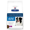 Prescription Diet Canine d/d Ente & Reis 12 kg - Allergy & Skin Care - SONDERPREIS statt 74,00 € pro Sack. Bild vergrö�ern